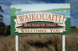 Waikouaiti welcome